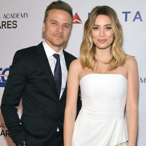 Matt Cutshall with his fiance