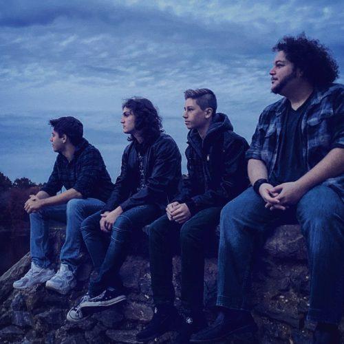Adam Ezegelian with his band