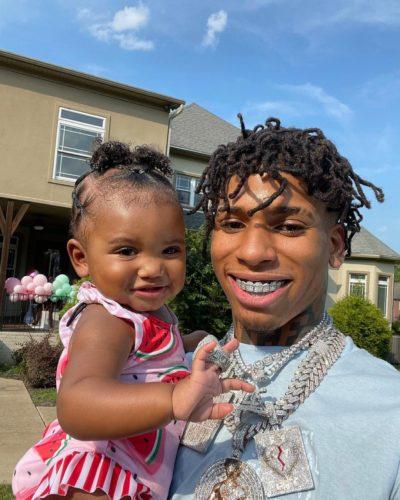 Awakened Choppa with his daughter