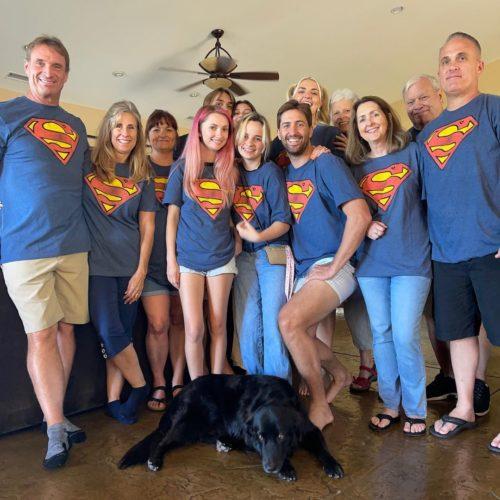 Capron Funk's family