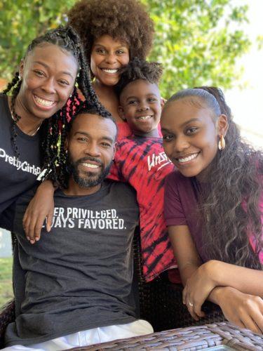 Choyce Brown's family