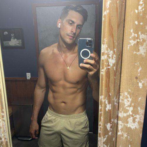 Cody Rigsby mirror selfie