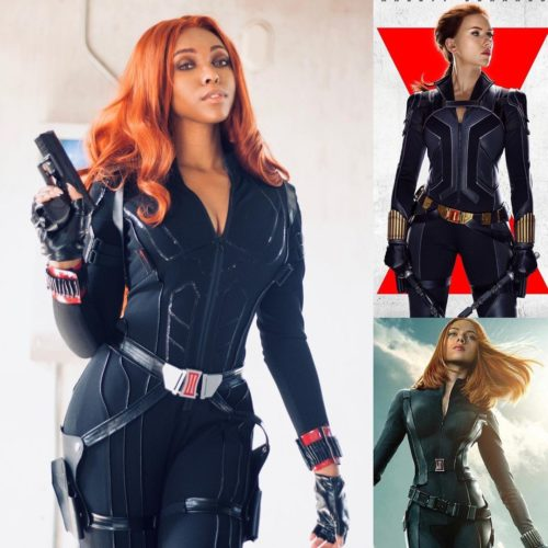 CutiePieSensei as Black Widow