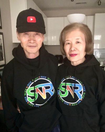 Glory Kim's parents