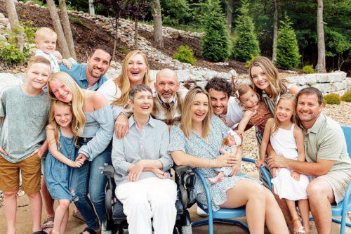 Jo Johnson's full family