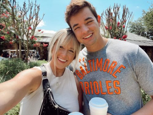 Laney Rene with her husband