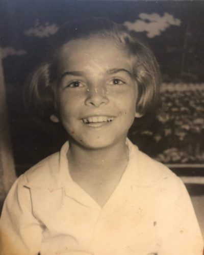Lili Hayes when she was young