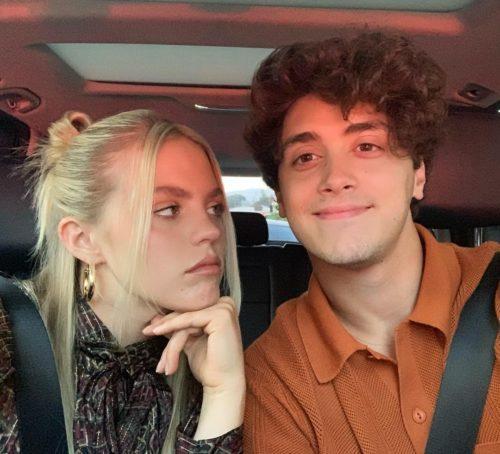 Reneé Rapp with her boyfriend