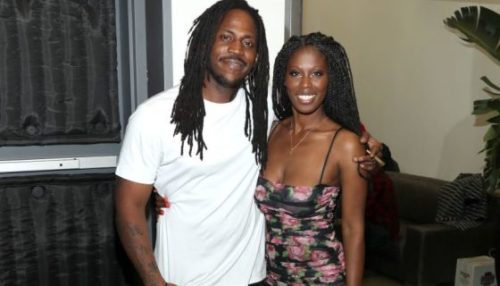 Sir Darryl Farris. with his wife